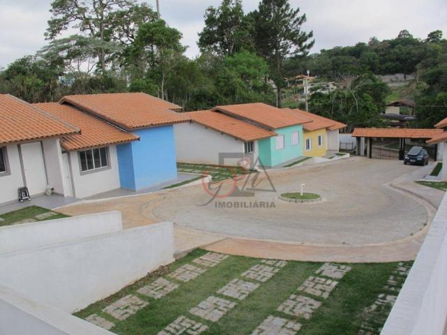 Casa nova 2 dormitorios, 1 suite, 2 vagas, piscina, em condominio Km 44 da Raposo. - Foto 13