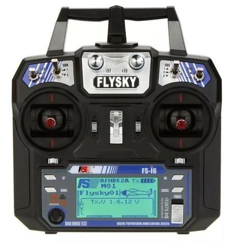 Radio Controle Flysky Fs-i6 V2 06 Canais 2.4ghz com Receptor de Maior alcance - Foto 5