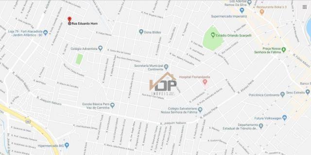 Terreno à venda, 360 m² por r$ 203.000,00 - jardim atlântico - florianópolis/sc - Foto 3