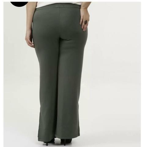 Calça Plus size verde Militar - Foto 3