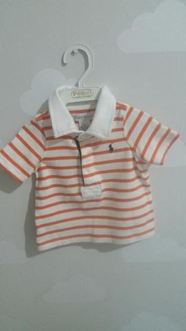 Camisa polo ralph Lauren infantil | camisa de bebê | camisa de botão | camisa top