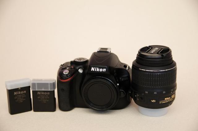 Kit Nikon D5100 + Lente+grip+bateria Extra + Cartão Sd + Bolsa -Muito Nova