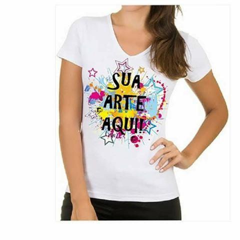 Camisa personalizada por 20 reais só este mês - Foto 2