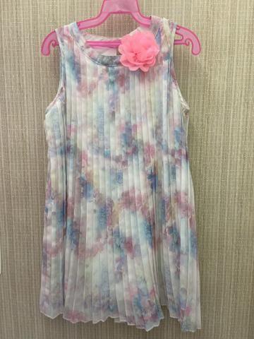 Vestido plissado H&M tamanho 5-6