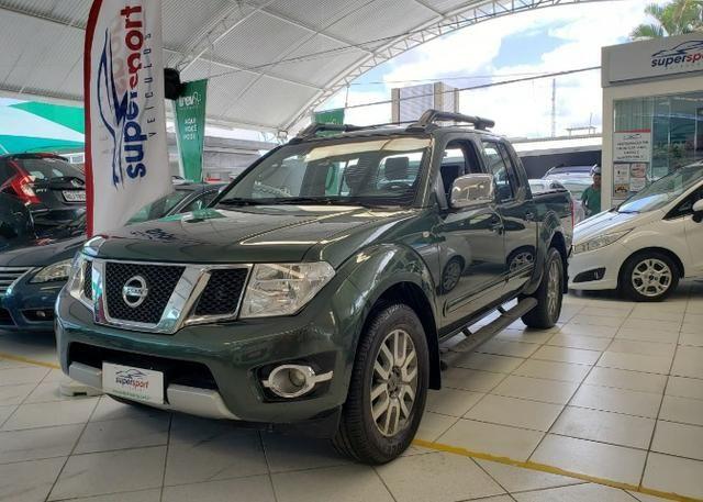 Nissan Frontier 2014 4x4 SL 190cv Extra !! - Foto 4
