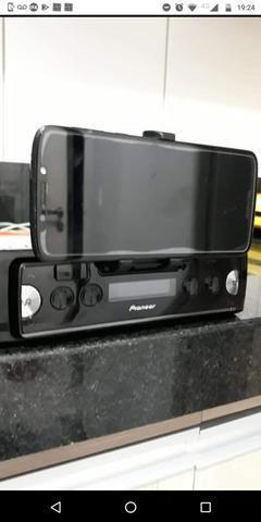 Auto Rádio Pioneer Sph - c10bt Bluetooth Smart sync - O MAIS TOP - Apenas 2 meses de uso - Foto 6