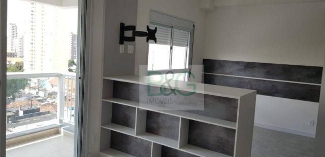 Studio com 1 dormitório para alugar, 34 m² por r$ 2.102,00/mês - ipiranga - são paulo/sp - Foto 6