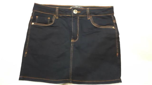 Saia Jeans escuro - Foto 4