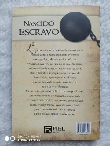 Livro Nascido Escravo, de Martinho Lutero - Foto 2