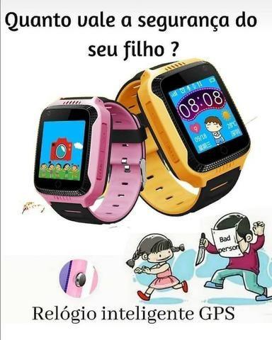 Black Friday - Relógio Infantil GPS - SOS - Foto 2