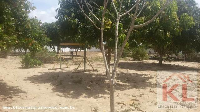 Lindo Sitio com 6.000m, com duas casas(sede),churrasqueira a 30km de natal em Macaiba/RN - Foto 16