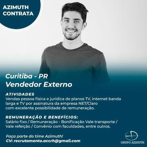 Vendedor externo - Curitiba