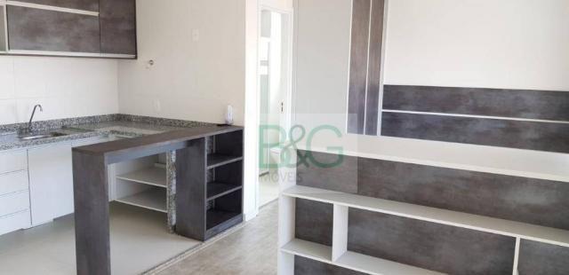 Studio com 1 dormitório para alugar, 34 m² por r$ 2.101,00/mês - ipiranga - são paulo/sp - Foto 19