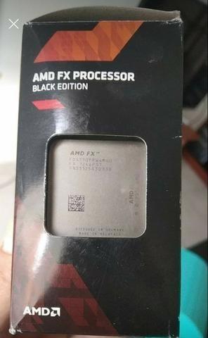 Kit processador Amd FX 4130 black edition, 8 gb de ram, placa mãe asus para gamer