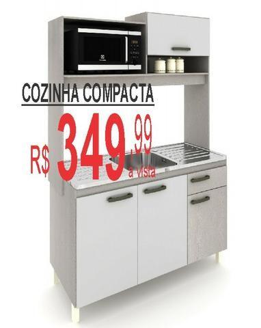 Cozinha compacta so 349,00 preço da fabrica - Foto 2