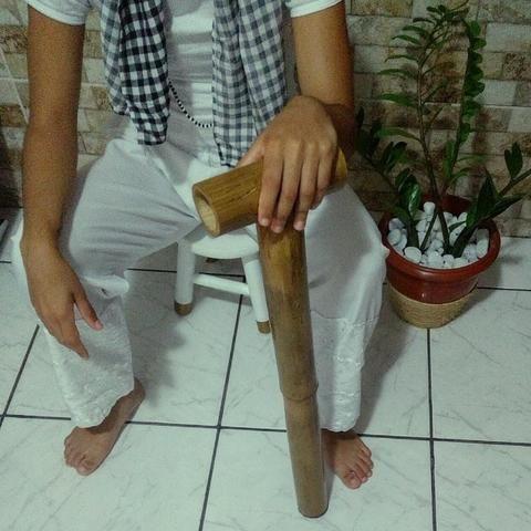 Bengala de bambu tratado