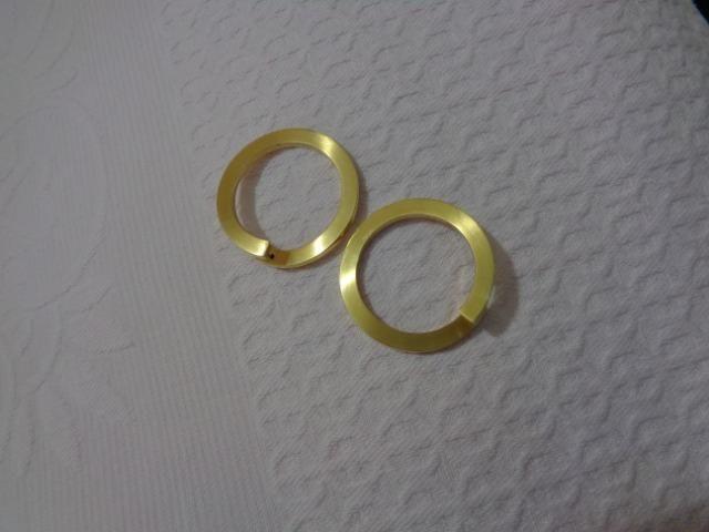 ac09dabd78651 Brinco Argola grande- 11,83 grs.- ouro 18 ks - Bijouterias, relógios ...