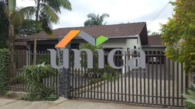 Casa à venda com 3 dormitórios em Vila nova, Joinville cod:UN01030