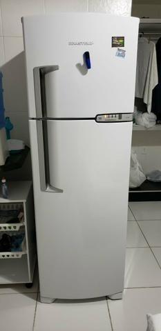 0929921f0 Geladeira   Refrigerador Brastemp Clean Frost Free BRM42 378 Litros ...