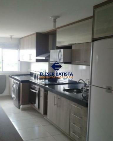 Apartamento à venda com 2 dormitórios em Villaggio manguinhos amalfi, Serra cod:AP00107 - Foto 3