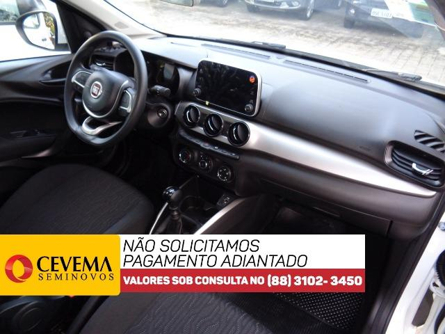 Fiat Cronos Drive Branco 1.3 0km - - Foto 6