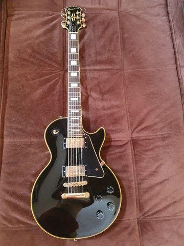 Guitarra EpiPhone Les Paul Custom Pro - Super Nova!!