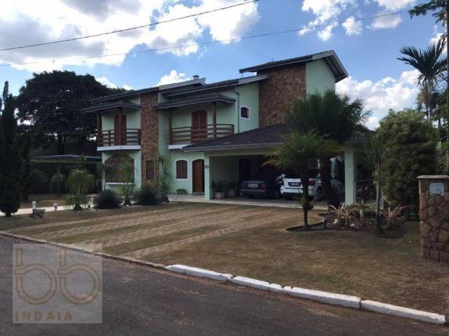 Casa com 4 dormitórios para alugar, 578 m² por R$ 12.000,00/mês - Condomínio Helvetia Coun - Foto 14