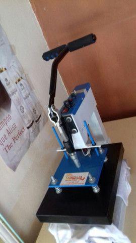 Máquina compacta print estampa de camisa