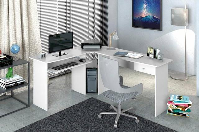 Mesa para escritorio master em L zapp * *