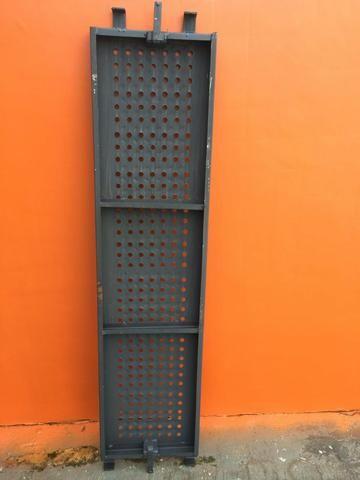 Pisos Metálicos 1,50m x 0,37m Reforçado -Novo - Foto 6