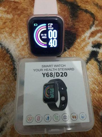 Relógio digital inteligente smartwatch