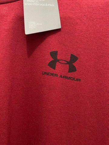 Camiseta Under Armour Red G - Foto 4