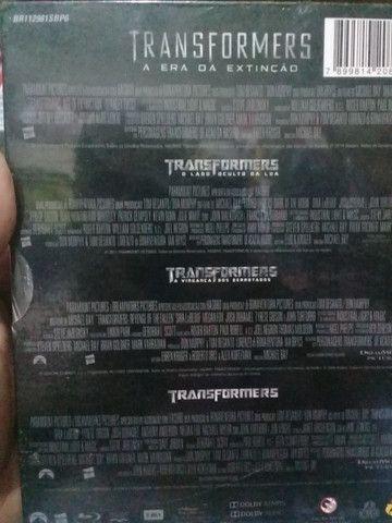 BLU ray transformers 4 filmes originais lacrados - Foto 3