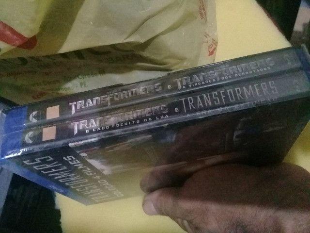 BLU ray transformers 4 filmes originais lacrados - Foto 2