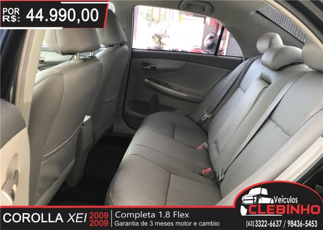 TOYOTA COROLLA 1.8 XEI 16V FLEX 4P AUTOMÁTICO - Foto 7