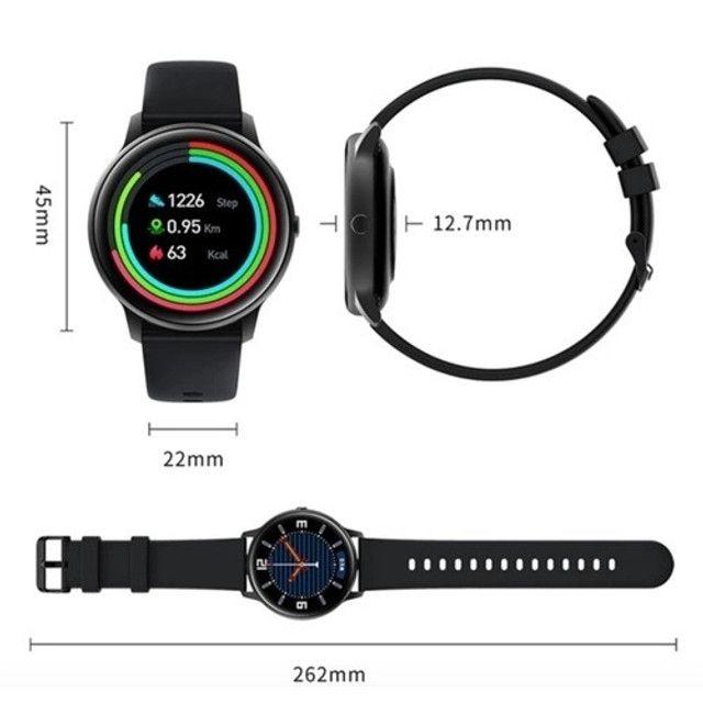 Smartwatch Xiaomi Imilab Kw66 Preto - Foto 3