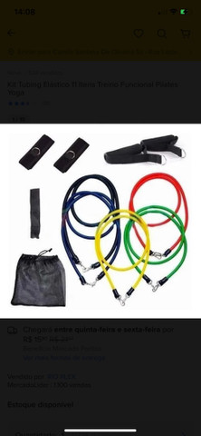 Kit tubing elástico  - Foto 2