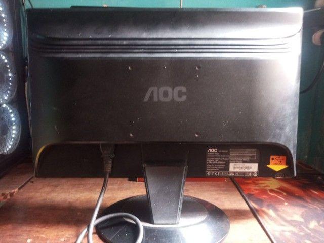 Monitor AOC 18 polegadas LCD - Foto 3