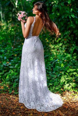 Vestido de noiva cívil - Foto 2