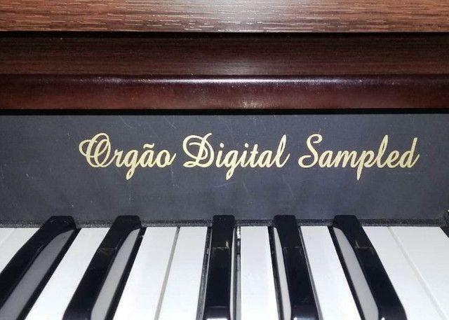 Orgao Eletronico Digital Sampled Serie Ouro - Foto 3