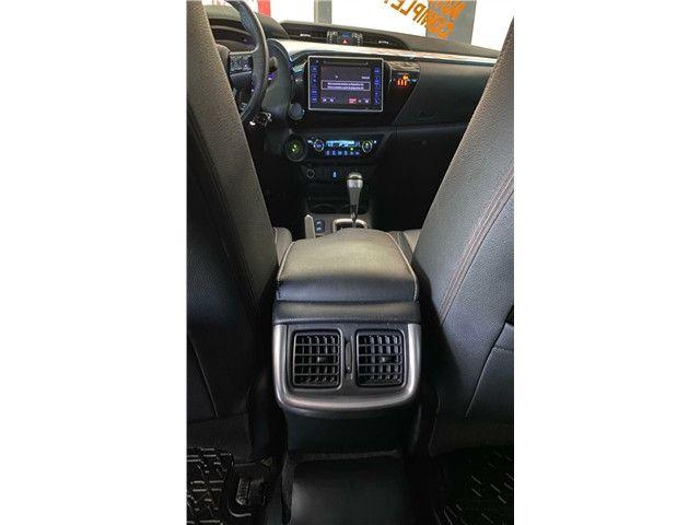 Toyota Hilux 2.7 Srv 4x2 C.dupla Flex+Gnv  Automático 2017!!! - Foto 15