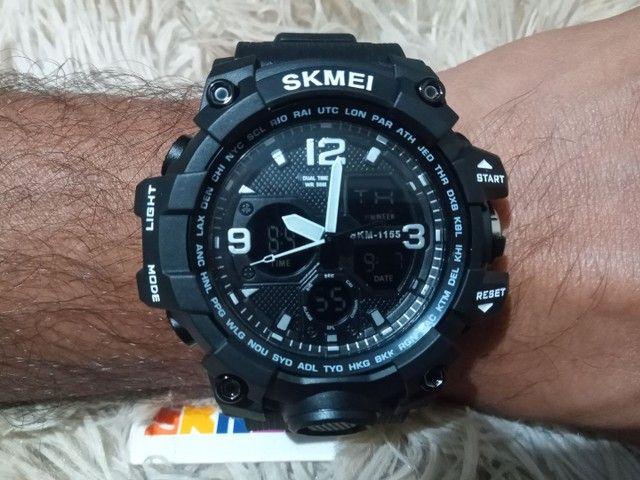 Relógio masculino esportivo digital - Foto 2