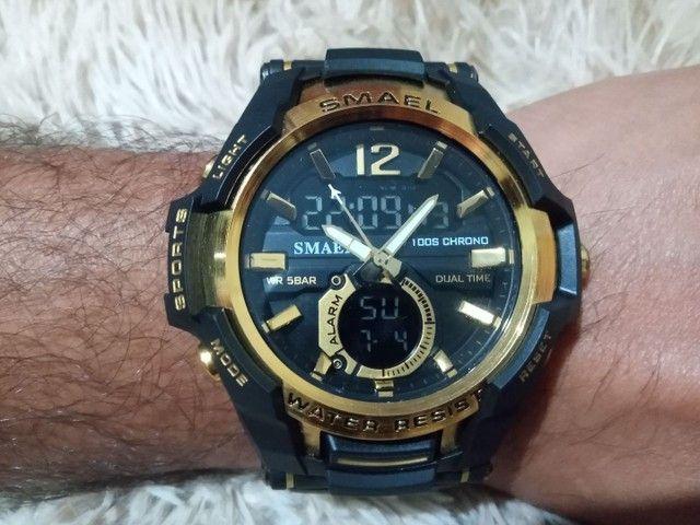 Relógio masculino esportivo digital - Foto 4
