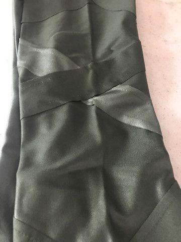 Calça fleer cirrê verde militar  - Foto 3