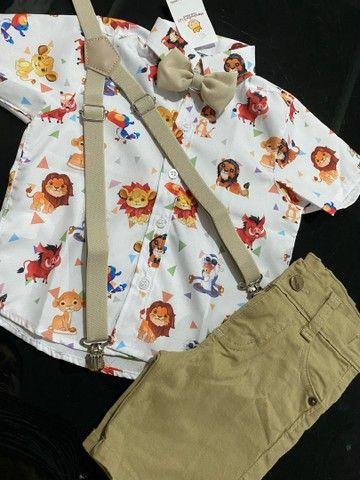 Roupa temática para o aniversário do seu filho roupa bebê  - Foto 6