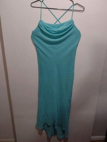 Vestido azul piscina - Foto 2