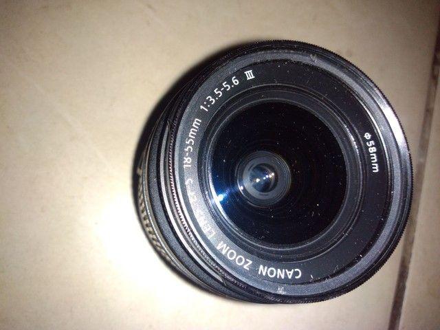 Lente Canon 18/55m nova zero - Foto 3