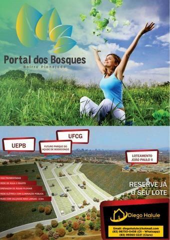 Loteamento Portal dos Bosques - Novo Bairro Planejado em Bodocongó !!!