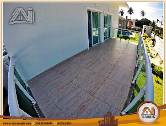 Vendo casa duplex em condomínio c/ 3 suítes no Eusébio - Foto 19