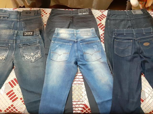 Calças masculinas novas/semi-marcas Tam.36, leia o anúncio